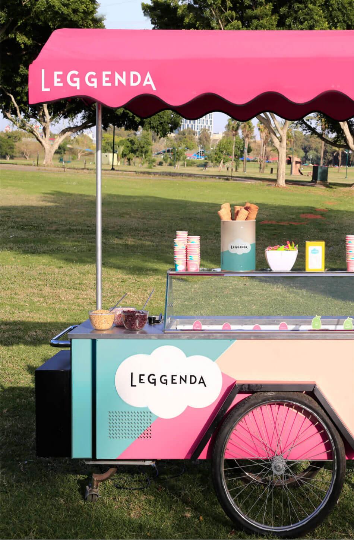 עגלת גלידה לארועים